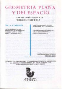 Baldor J A 2004 Geometria plana y del Espacio Tesis profesionales - 2